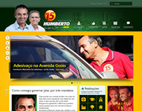 Website Prefeito Humberto Machado