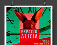 Espacio Alicia Flyer
