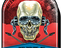 Megadeth Beer Label