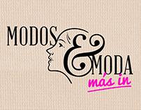 """modos y moda """"más in"""" tv opening"""