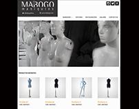 MABOGO Maniquíes Website Store.