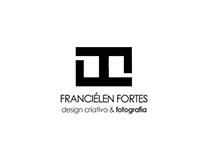 Franciélen Fortes - Logotipo e cartão de visita