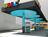 Industrial Design / HOLA! Service Station