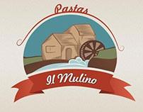 Diseño de Logotipo: Pastas Il Mulino