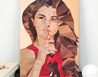 Low Poly | Selena Gomez