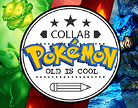 Collab | Pokémon Old is Cool - First Generation