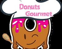 Logo Donuts Gourmet