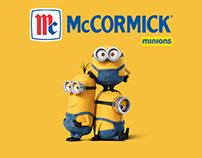 MCCORMICK + MINIONS / Web