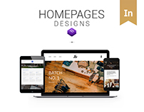 Homepages - Bootstrap