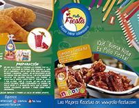 Recetarios Pollo Fiesta Locheras Niños
