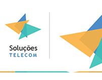 Criação de logo para Soluções TELECOM