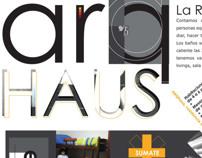 Arq Haus - Hostel branding