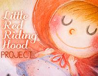 Caperucita Roja y Oki el Akita Proyecto álbum ilustrado