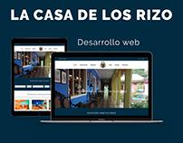 """Hotel Museo """"La Casa de los Rizo"""" - Desarrollo Web"""