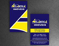 Business Card - Atlântica imóveis
