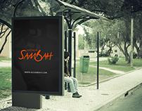 Criação da Identidade da Agencia Sambah - Projeto em an