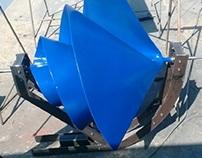 Archimedes turbine, Turbina de Arquimedes