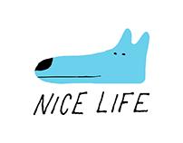Nice Life T-shirt, Everpress, UK