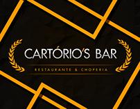 Cartorios Bar | Identidade Visual & Logo