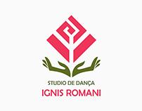 Logotipo - Studio de Dança: Ignis Romani