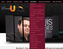 www.RevistaU.com.ve - Magazine Online - Wordpress