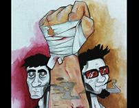 Ilustración Cartoon
