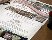 Publicidad para diarios Hotel Howard Johnson