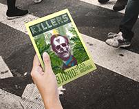 Cartelismo Ilustrado Concierto THE KILLERS