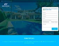 Desarrollo de sitio web para empresa inmobiliaria