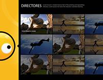 SItio web interactivo para Stanley Films