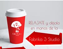 Newsletter Fabrika 3 Studio