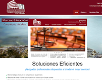 Web Site Wordpress Marcano&asociados