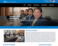 Diseño Página Web - ABA Rule Law Initiative