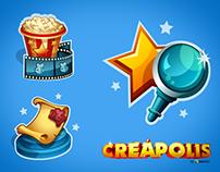 Creapolis ICONS • Icon Design