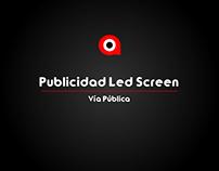 Publicidad Led Vía Pública 2017