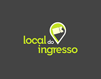 Proposta de logo - Local do Ingresso