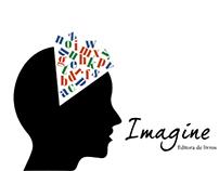 Logotipo Imagine Editora de livros