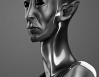Modelado 3D - Busto