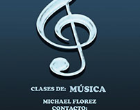 Music teaching - flyer
