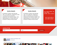 Website desenvolvido para empresa de extintores