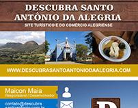 Cartão de Visita - Site Turístico