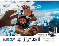 Gopro Hero 3 Advert