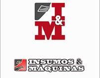 Logo y Diseño pagina Web. www.insumosymaquinas.com.ar