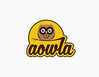 Aowla - logo design