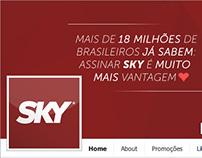 SKY Central de Assinatura - Capas para Facebook