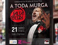 Poster - Fund. Vivian Trías - Murga Falta y Resto