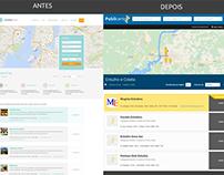 Edição página de busca Guia Local Wordpress
