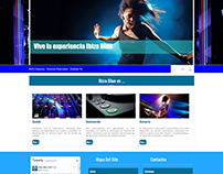 Ibiza Blue Web Design