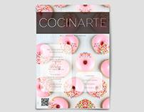 Revista Cocinarte - Diseño editorial