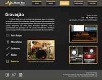 Music Box Estúdio | website redesign